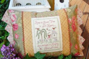 Singing Bird Cushion pattern