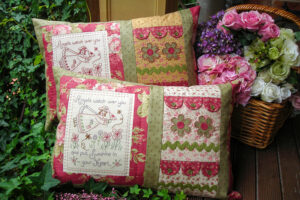 Angels Cushion pattern