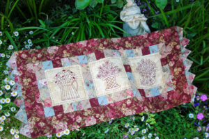 The Flower Market Table Runner pattern