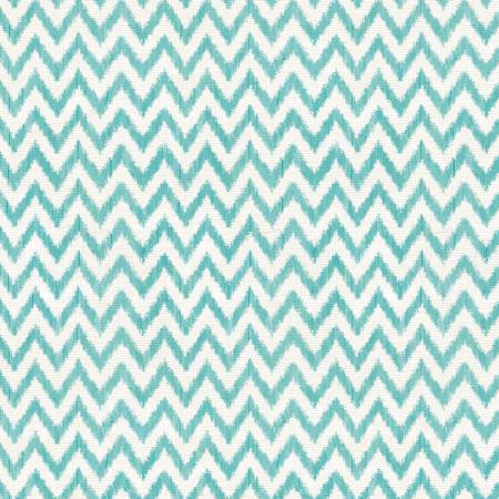 To The Moon & Back AQUA & WHITE CHEVRON  82461 144