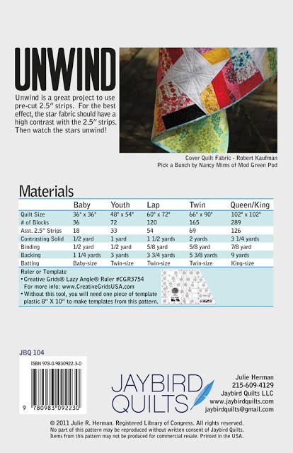 Unwind Pattern JBQ 104