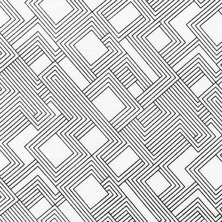 Fractals BLACK (on White) 16344 2