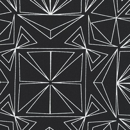 Fractals BLACK GEO 16345 2