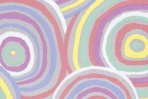 Kaffe Fassett Pastel Circles