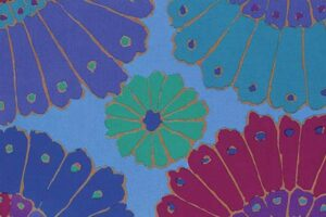Kaffe Fassett Blue Carpet