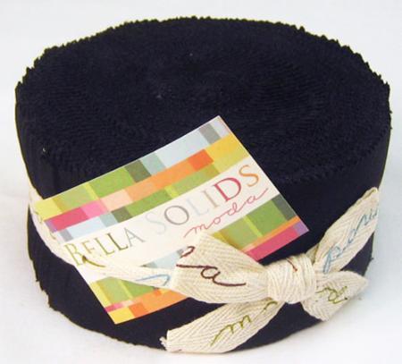 Bella Solids  Black Jelly Roll