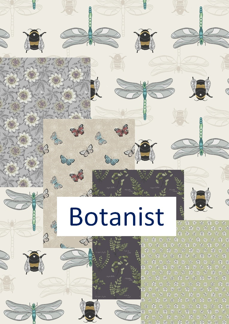 The Botanist fat quarter bundle