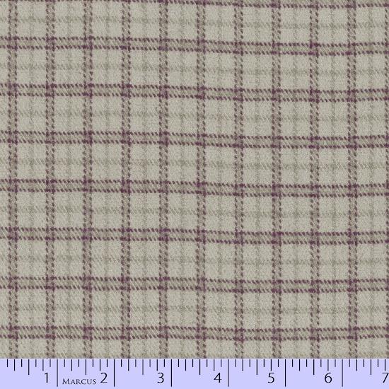 Primo Plaid Flannel PLUM J364 0140