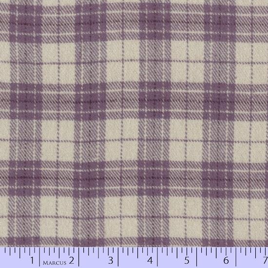 Primo Plaid Flannel PLUM J365 0135