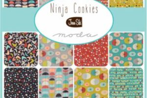 Ninja Cookies Jelly Roll