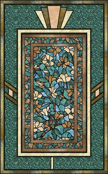 Art Glass Magnolia