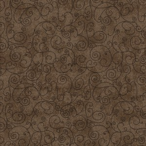 BOLT END Flannel Harmony Brown  1.7m piece