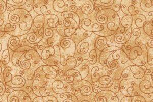 **Flat Fold Flannel Harmony Cream 3.8m