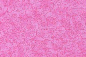**Flat Fold Flannel Harmony Pink 1.9m