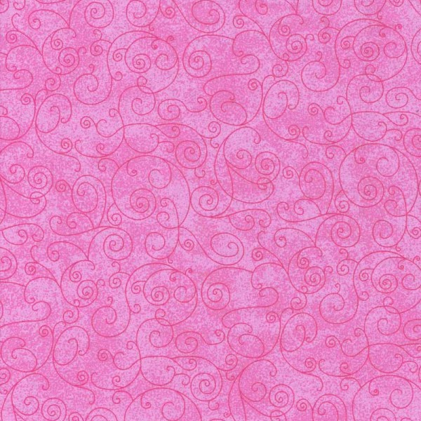 **Flat Fold Flannel Harmony Pink 1.6m