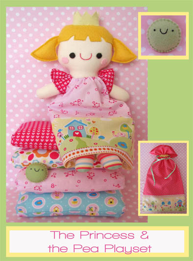 The Princess & The Pea Playset TB031