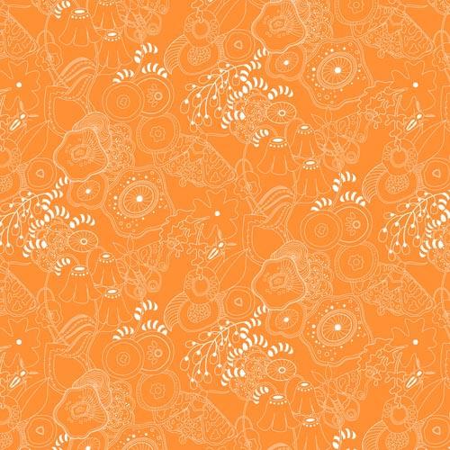 Sun Print Tangerine Grow A8070O