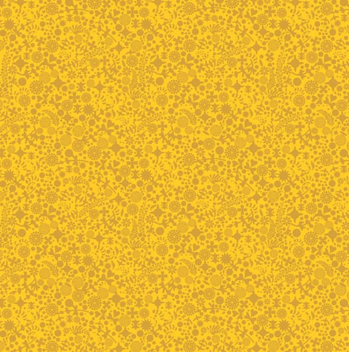 Sun Print GoldenRod Endpaper A8137Y