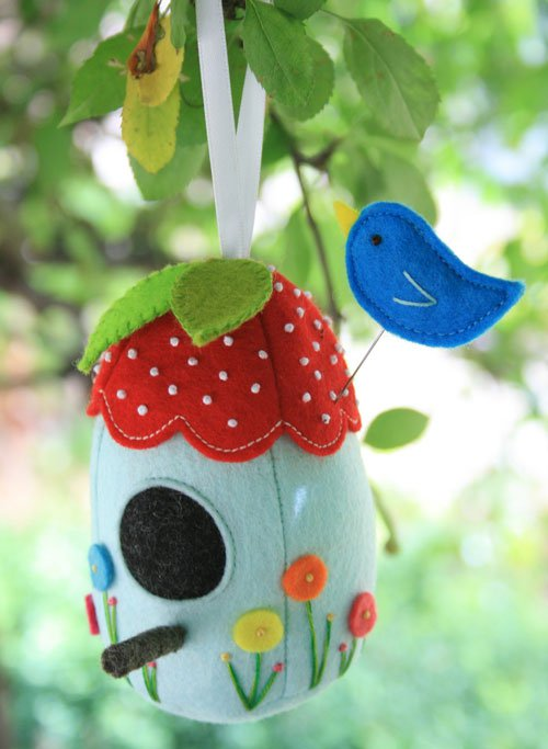 Birdhouse Creative Card  RR719