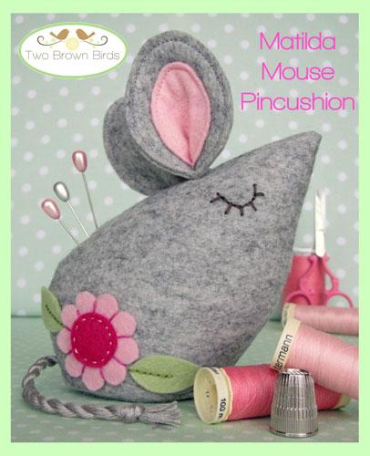 Matilda Mouse Creative Card  TB707