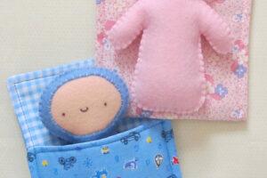 Bub in Bed Creative Card  TB722