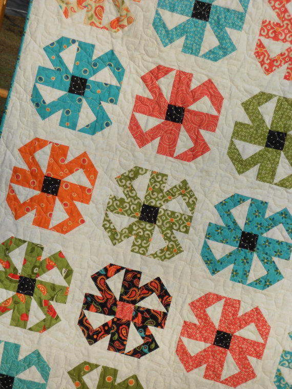 Spin Blossoms pattern LLD 051