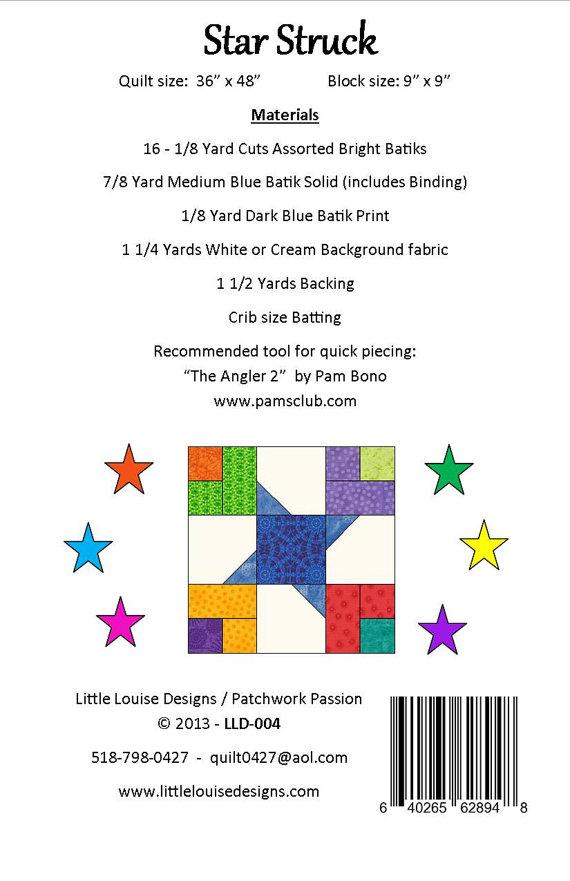 Star Struck pattern  LLD 004