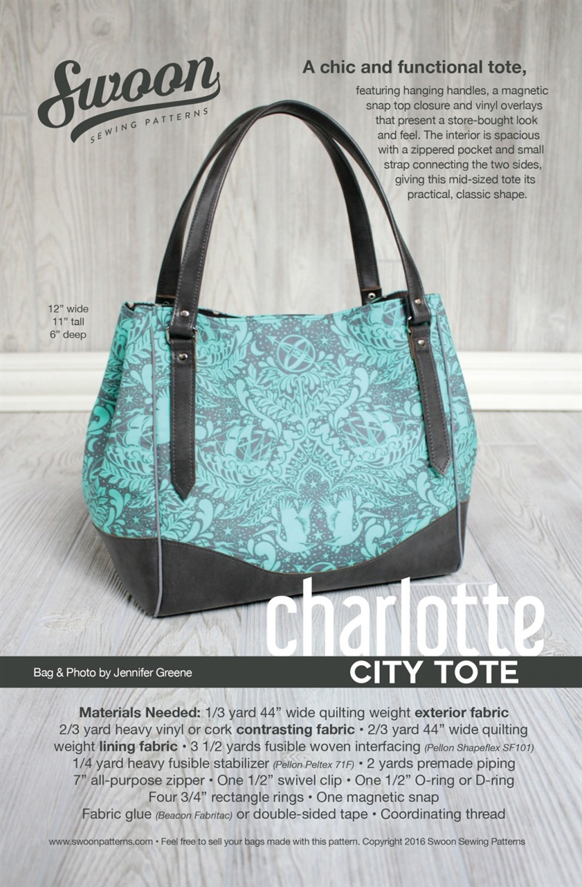 SWOON Charlotte City Tote SWN004