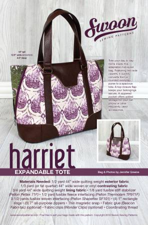 SWOON Harriet Expandable Tote SWN014.
