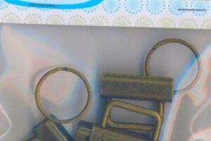 Lazy Girl Key Fob Hardware Antique Brass