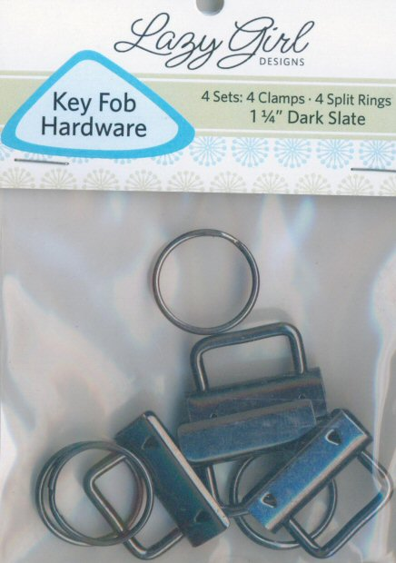 Lazy Girl Key Fob Hardware Dark Slate