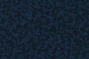 Bolt End Flannel Foliage Navy 1.4m