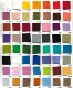 Felt Colorchart