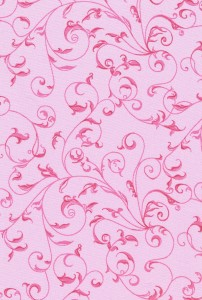 BOLT END Rambling Scroll Pink 2.7m piece