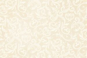 Pearl Essence Scroll Antique Cream 114 E