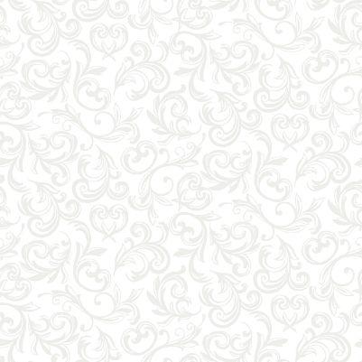 Pearl Essence Scroll White 114 W