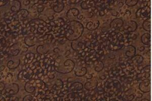 Complement Scroll Brown