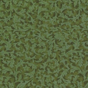 BOLT END Flannel Foliage Basil 1.2m piece