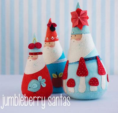 Jumbleberry Santa MB041