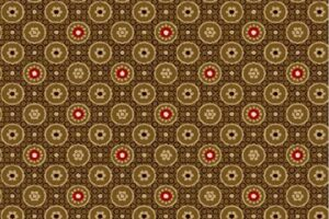 Civil War Paula Barnes Medallions Brown Background