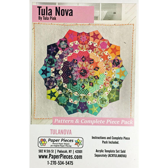 Tula Nova Pattern & Papers Set
