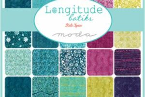 Longitude Batiks Fat Quarter Bundle DEPOSIT