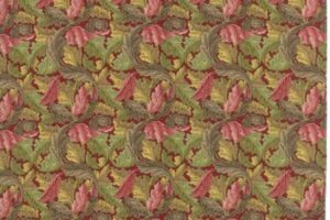 William Morris 2017 Acanthus Garnet 7304 14