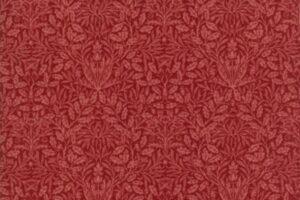 William Morris 2017 Floral Acorn Garnet 7307 20