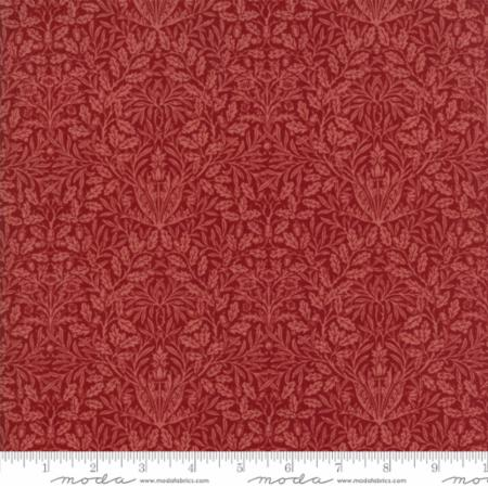 William Morris 2017 Floral Acorn Garnet 7307 20