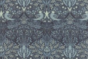William Morris 2017 Dove Rose Indigo 7301 21