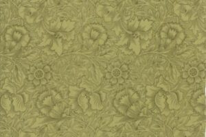 William Morris 2017 Floral Poppy Sage 7303 17
