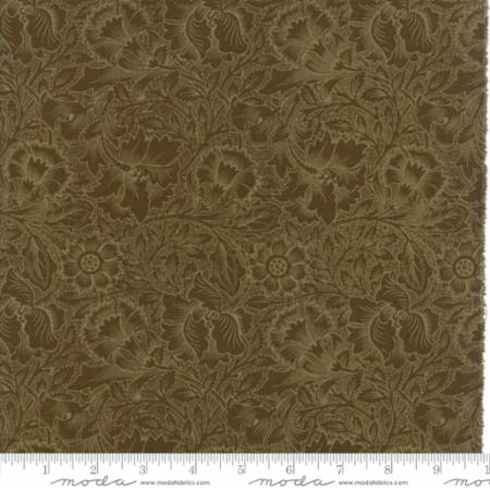 William Morris 2017 Floral Poppy Sepia 7303 15