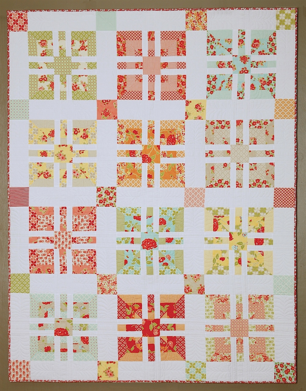 Pattern Candy Rose
