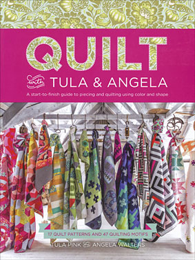 Book Quilt with Angela & Tula